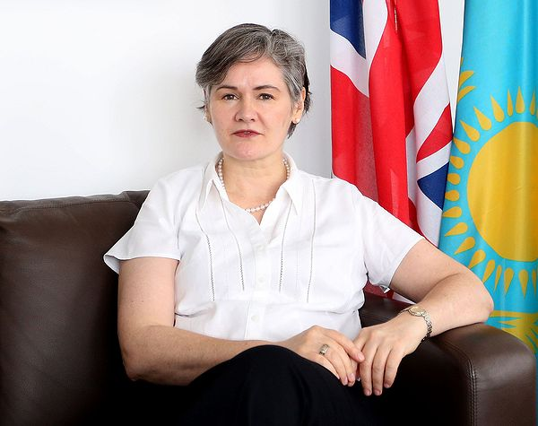 Dr. Carolyn Browne, British Embassy, Kazakhstan